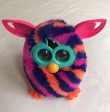 Rare 2012 Hasbro Furby Boom Electronic Interactive Talking Plush Pink Stripe Pet