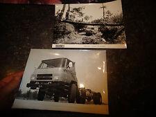 Ancienne Photographie Ancien Camion BARREIROS & SAVIEM 1972 genre TP3 Fourgon