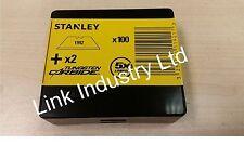 100 GENUINE STANLEY 1992 STANLEY knife blades 1-11-921