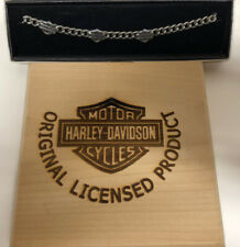 "Harley-Davidson Ladies Anklet 15"". Superb Quality, High Detail!!"