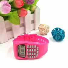 Wrist Watches Children's Digital Calculator Watch for Kids Students Gift