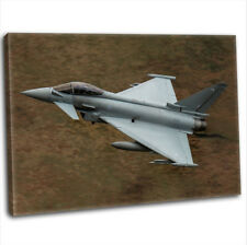 More details for raf eurofighter typhoon canvas print framed photography wall art picture