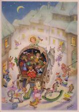 AK, CHARLOTTE BARON RAA, Christkind verteilt Spielzeug zum Weihnachtsfest- 1950*
