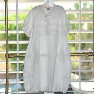 Oilily Girls Linen Dress Size 9 10 New $178.00