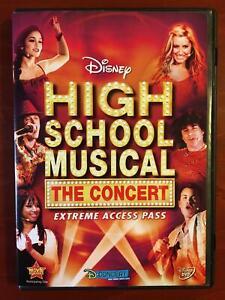High School Musical - The Concert - Extreme Access Pass (DVD, Disney) - G0412