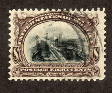 1901 US SC 298 Soo Locks Pan American Exposition - Used VF, 8c Brown Black