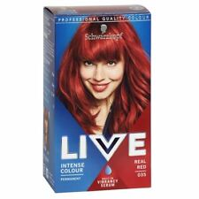 Schwarzkopf LIVE INTENSE COLOUR- Real Red 035 New