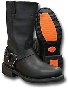 Harley-Davidson Hustin Herren Stiefel 11 Zoll Welt Harness D97007