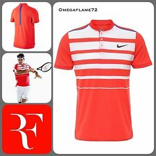 Sz XS Nike Roger Federer Court Premier RF Tennis Polo Shirt 2016 ATP Masters