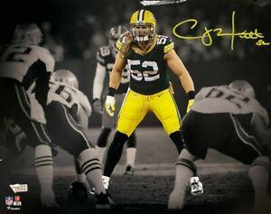 Green Bay Packers Clay Matthews Signed 11x14 Photo Fanatics Hologram