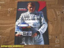 Mika HAKKINEN (McLaren) - mini poster 2xA4 Format
