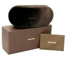NEW TOM FORD LARGE BROWN SUNGLASSES EYEGLASSES OPTICAL CASE ONLY !