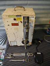 Filamatic Vial Filler Model AB-5 w/ Foot Switch + Syringes