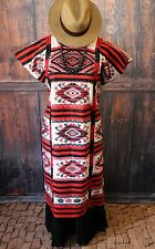 Collector Quality Classic Usila Huipil Hand Woven Backstrap Loom Tuxtepec Mexico