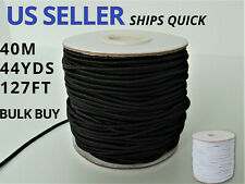 2mm Elastic Cord, Perfect Size Cord for Ear Loops, Sewing