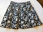 Westbound Women's Ladies Skirt Black Size Variations Black White Floral NWT NEW