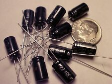 ( 76 PC. ) ELECTROLYTIC CAPACITORS 22 uf, MFD AT 35 VOLTS, 105 DEGREE C,RADIAL