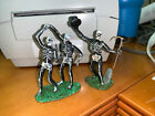 Lemax Spooky Town Accessory Dancing Skeleton Set 72377 Halloween Village 2007