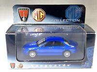 Corgi Vanguards 2004 MG ZT Diecast 1/43 VA 09300 Trophy Blue New In Original Box