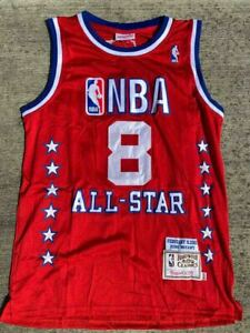 NEW! #8 KOBE BRYANT Mitchell & Ness 2003 All Star Men's RED Stitched Jersey