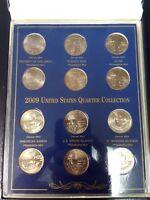 2009 United States Quarter Collection w COA