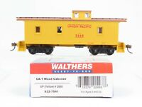 HO Scale Walthers 932-7541 UP Union Pacific CA-1 Wood Caboose #2668