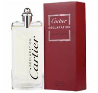 100ml Cartier Declaration Eau de toilette Perfume hombre 3.3oz