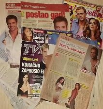 William Levy recortes de revistas Serbia