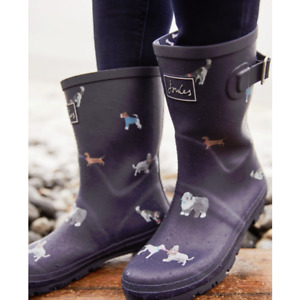 Joules Molly Mid-Height Wellies- MayDay Dogs - UK 7