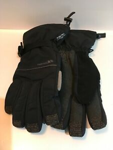TRESPASS TRES-TEX WINTER GLOVES, SNOWBOARDING, CYCLING, FASION. BLACK, SIZE S