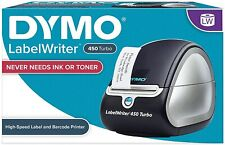 Labelwriter 450 Turbo Label Thermal Printer Black 1750283