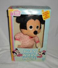 Vintage 1983 Hasbro Minnie Mouse Disney Plush Stuffed Doll Nib
