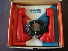 REMCO VINTAGE TOY 2-WAY ELECTRONIC WALKIE TALKIES WITH BOX EXCELLENT CONDITION