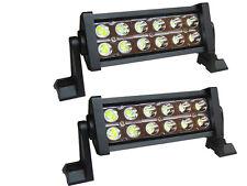 2 x 36w LED Work Light Bar Truck SUV Boat Driving Lamp Spot Light White DC12-24v