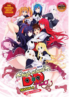 DVD ANIME High School DxD Hero Uncut SEASON 4 [Vol. 1-13 End] ~ English Dubbed