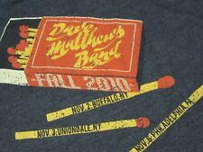 DAVE MATTHEWS BAND 2010 FALL TOUR T-SHIRT-SM RARE NOV 2nd-MAY 20th TIM REYNOLDS