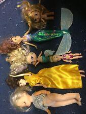 Job Lot Dolls Rare Bratz Baby Mermaid & Simba dolls