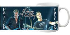 Mug (tasse) JOHNNY HALLYDAY personnalisé avec prénom (Incassable)