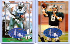 "TROY AIKMAN & EMMITT SMITH 1997 ""STRONGBOX"" AUTOGRAPHED COLLECTION ""2"" CARD LOT!"