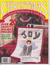 Christmas Year Round Needlework & Craft Ideas Mar/Apr 1991 Scrap Crafts & More