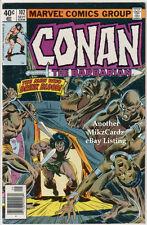 Conan The Barbarian #102 (Sept 1979) Vg Condition Comic Book