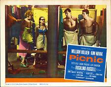 PICNIC original movie lobby card poster KIM NOVAK/SUSAN STRASBERG/WILLIAM HOLDEN
