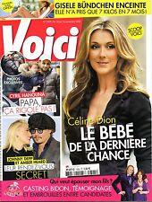 Mag 2012: CELINE DION_CYRIL HANOUNA_JOHNNY DEPP_GISELE BÜNDCHEN_IGGY POP