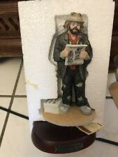 "Emmett Kelly Jr.-""10 Years Of Collecting� Figurine"