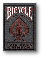 Bicycle Rider Back Cobalto Luxe (Red) Versione 2 Poker Carte da Gioco Cardistry