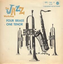 7inch AL COHN THE JAZZ WORKSHOPfour brass one tenorGERMAN 1956 EP EX+ (S1378)