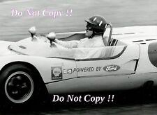 Graham Hill Ian Walker Racing Lotus 23 Laguna Seca 1963 Photograph