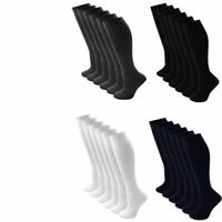 Girls Knee High Socks 2 Pack and 4 Pack School Socks