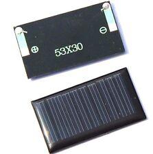 PLACA SOLAR 0,15 W 5 V 30 mA 53x30mm PANEL ARDUINO DIY CELULA FOTOVOLTAICA
