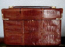 Delvaux Brevete Luxus Tasche Braun